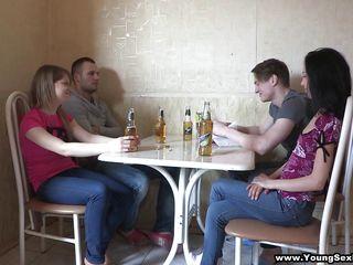 подборка секс молодых