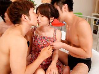 Японское порно в нижнем белье