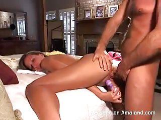 Любительское порно видео сперма