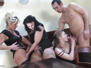 Секс с немецкой уборщицей