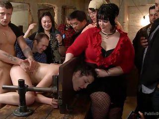 Порно бондаж в коже