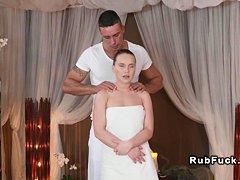Эротический массаж жене