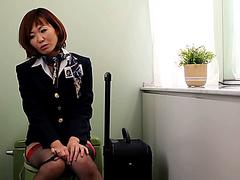 Азиатки стюардессы