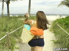 На пляже фото зрелые дамы