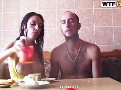 Порно русское муж жена и проститутка