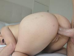 Качок в жопу горничную русское порно