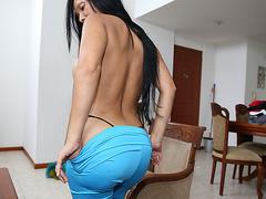 Латина служанка порно
