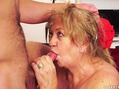 Порно массаж старых