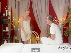 Оргазм во время массажа