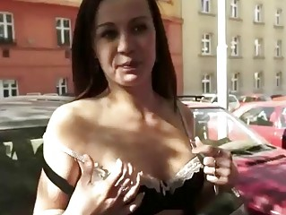 Пикап девушек на улице секс